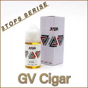 GV Cigar _3tops Series 30ml [스템 NIC] 9.8mg